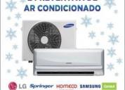 Instalação e reparos em geral de ar condicionado s