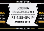 Dhabi steel prod. siderúrgicos - bobina gl, gi, ga