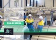 Bobinas de aço galvanizado - dhabi steel ltda