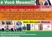 Franquia de perfume - tenha seu próprio negócio