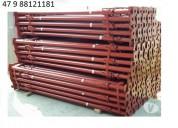 Estronca metálica de aço p laje 5,0