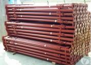 Estronca metálica de aço p laje 6,0