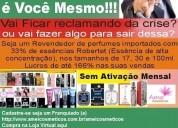 Seja um consultor de perfume amei cosméticos
