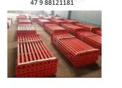 Estronca de aço regulável p laje 4,20