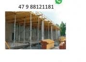 Estronca de aço ajustável p laje