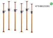 Estronca de aço ajustável p laje 3,40