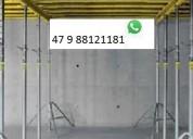 Estronca de aço ajustável p laje 3,60