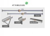 Estronca de ferro ajustável p laje