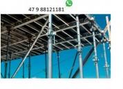 Estronca metálica de aço ajustável p laje 3,20