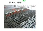 Estronca metálica de aço ajustável p laje 3,70