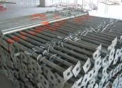 Estronca metálica de aço ajustável p laje 3,80