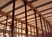 Estronca metálica de aço ajustável p laje 4,0
