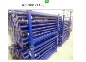 Kit p estronca de aço ajustável 2,90