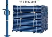 Kit p escora de ferro ajustável 3,40 vendas