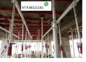 Kit p escora de ferro ajustável 3,60 vendas