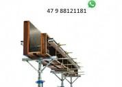 Kit p escora de ferro ajustável 3,90 vendas