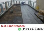 S.o.s infiltrações e impermeabilização de lajes