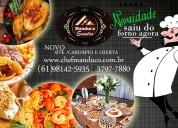 Conheça as sete maravilhas da manduco eventos buffet em brasília/df
