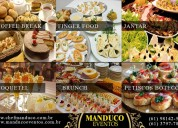 Buffet - serviço de catering e kit lanche para eventos e viagens
