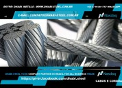 Dhabi steel - cordoalhas de aço galvanizado