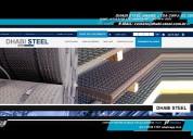 Dhabi steel - chapas laminadas a quente xadrez