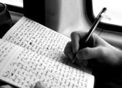 Digitação de manuscritos de livros e apostilas