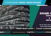 Vergalhão de aço ca50 é com a dhabi steel