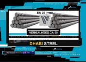 Dhabi steel - vergalhão de aço ca50 - barras retas