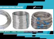Dhabi steel - arame galvanizado, zincado, recozido