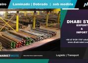 Dhabi steel - barras, vigas, cantoneiras