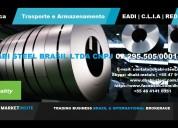 Dhabi steel - bobinas de aço plano