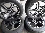 Oportunidade. roda 16 sandero g t line novas pneus de brinde