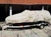 Lancha focker velocity 17 5 com motor mercury marine 90 hp 2002 2002