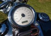 Linda moto harley davidson dyna super glide 2009 so 50 mil rodado 2009