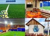 Vende se ponto de campos de futebol society