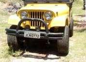 Vendo excelente jeep reliquia