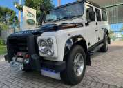 Oportunidade!. land rover defender 110 fire ice 2010