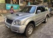 Oportunidade! mitsubishi pajero sport hpe 2 5 4x4 diesel mto nova 2009