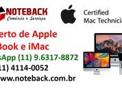 Assistência técnica apple imac macbook pro mac min