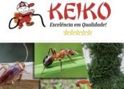 Keiko dedetizadora – controle de pragas na grande