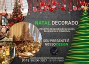 Decoração de natal em brasilia df