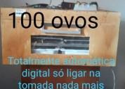 Chocadeira 100 ovos automatica digital