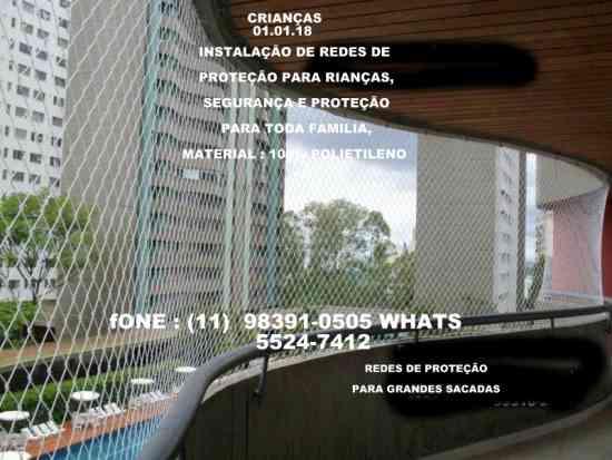 Redes de Proteção na Vila Sonia, 11-98391-0505