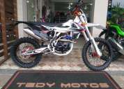Excelente mxf 250 rxi black edition 0km montada crf ttr honda yamaha