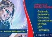 Graduação online - formação rápida e completa