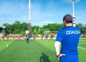 Procurando um treinador de futebol com licença b m