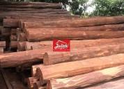 Venda de mourões esticadores lascas madeira acapu