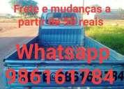 Frete mudana as 50 reais, contactarse