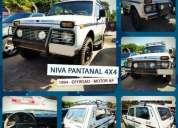 Lada niva pantanal 4x4 motor ap, contactarse.