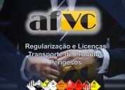 Assessoria  licença  transporte produtos perigosos